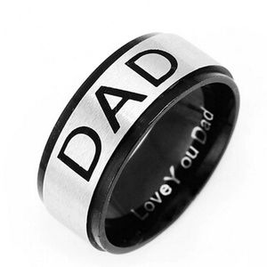 Other - NEW Stainless Steel Dad Ring Father Grandpa Gift